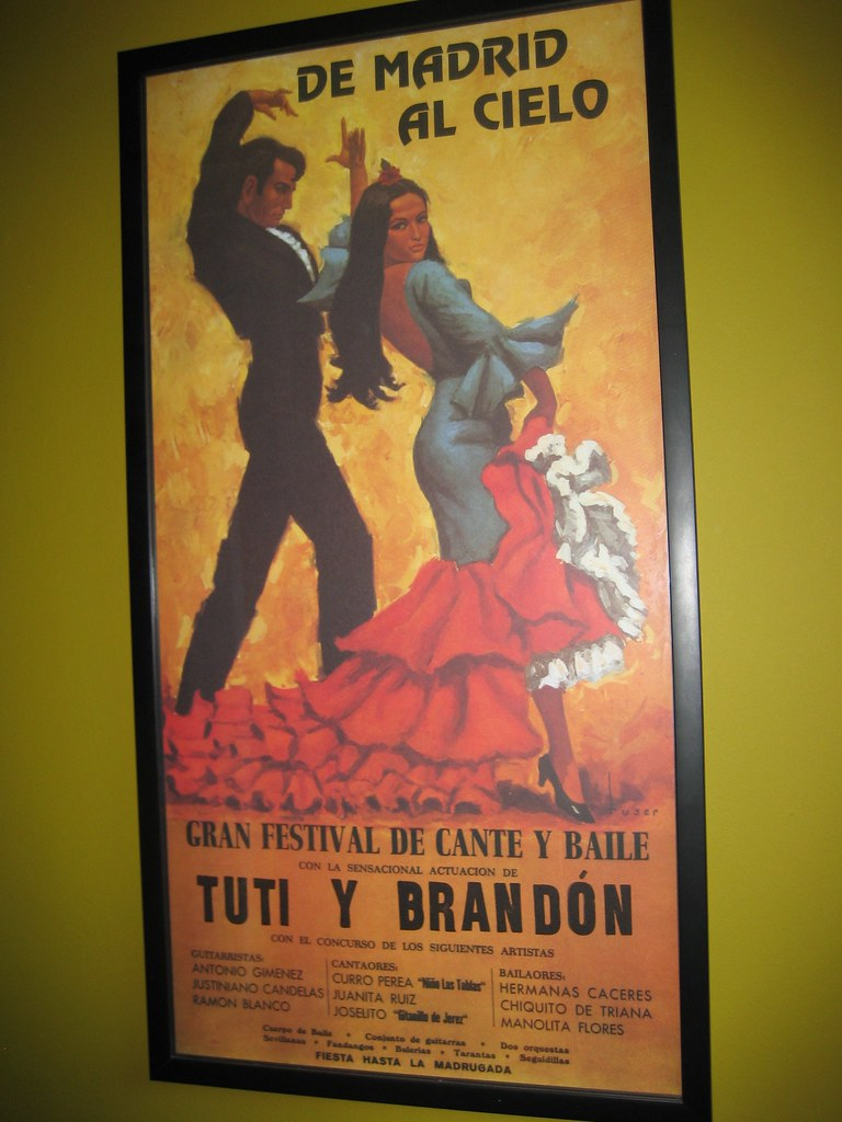 Souvenier poster from Madrid