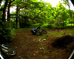 And Again Please Russell? (Adam Morton) Tags: bmx russell forbes dirt jumps bail