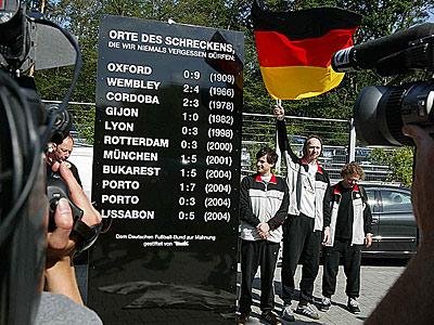 Deutsche Niederlagen