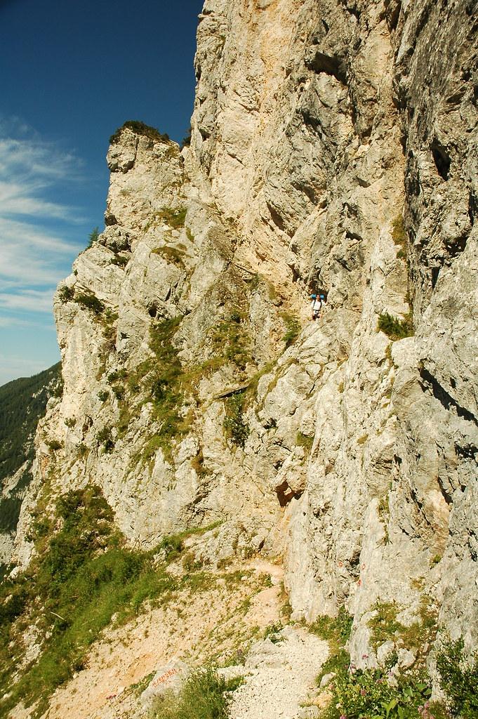Via Ferrata - Ott állok a hegyoldalban
