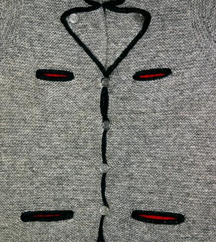 Original Bavarian Jacket - detail