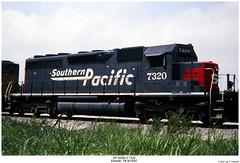 SP SD40-2 7320 (Robert W. Thomson) Tags: railroad train diesel tennessee railway trains sp locomotive trainengine southernpacific etowah emd sd402 sixaxle