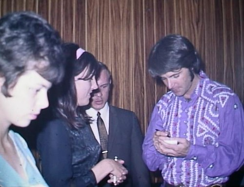 Ruby Getting Ricky Nelson's Autograph