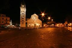 Duomo e fontana d'Orione (ToniZancle) Tags: italy night italia clear campanile sicily duomo sicilia messina fontanadorione
