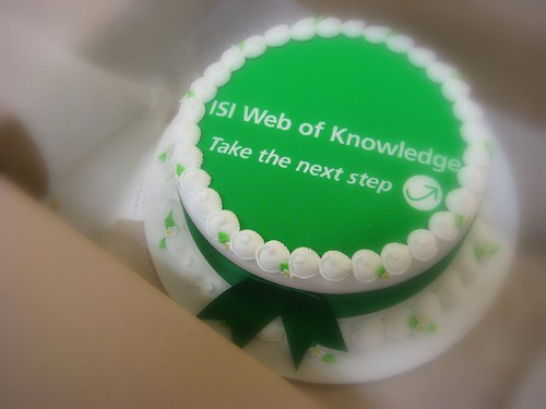 Web of Knowledge cake