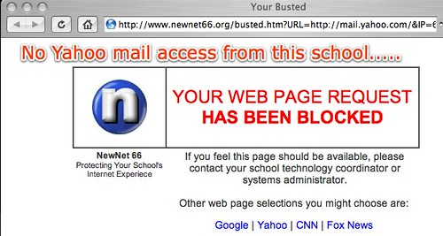 Your Busted - No Yahoo Mail Access
