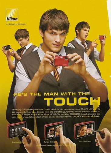 nikon ashton kutcher 2011. Ashton Kutcher - Nikon