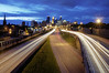Time Lapse in Minneapolis (Tony Shi Photos) Tags: city light urban minnesota skyline long exposure time minneapolis stroke wells best scape fargo hdr lapse 美国 ミネアポリス nikond700 明尼阿波利斯 미니애폴리스 tonyshi 明尼蘇達州 明尼阿波利斯市