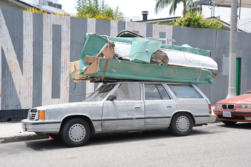 Homeless Car Living Venice Beach