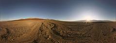 Artist's Drive  -- Death Valley National Park (lsalcedo) Tags: panorama solitude desert openroad artistspalette deathvalleynationalpark ptgui equirectangular fantasticnature