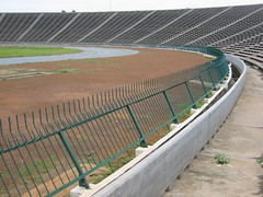 Olympic Stadium, Phnom Penh (Pigalle) Tags: city sport architecture asia cambodge cambodia khmer capital games creativecommons phnompenh olympic olympicstadium mekong phnom indochine penh tonlesap indochina kampuchea bassac pearlofasia attributionnoncommercialsharealike ccbyncsa tonlsap vannmolyvann phnumpenh phnum nationalsportscomplex phnumpnh newkhmerarchitecture ganefo southeastasianpeninsulargames umsamuth graldhanning claudeduchemin jeanclaudemorin newkhmer