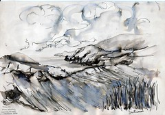 traloar from muckross - donegal (canon 1) Tags: sketch donegal killybegs sketchbookpages
