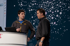 Mathieu Bastian and Richard Bair, JavaOne Keynote, JavaOne + Develop 2010 San Francisco