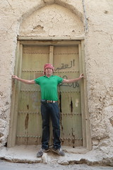 Green doors and stuff in Nizwa (CharlesFred) Tags: arabia oman greendoor nizwa