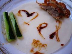 Mel likes Beijing roasted duck (MelindaChan ^..^) Tags: china food restaurant duck yummy chinese mel eat meal hebei dine melinda roasted 河北 chanmelmel melindachan