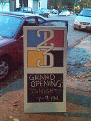 The studio is located at 1617 W. Main St.