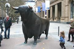 Börsen-Bulle - Frankfurter Börse
