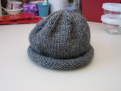 Grey kids hat for Afghans for Afghans