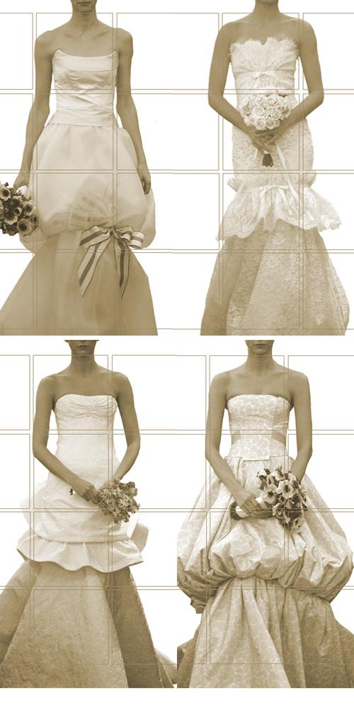 carolina herrera bridal '08