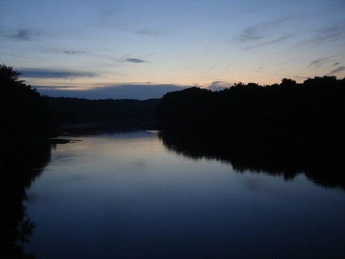 Wabash River Before Dawn