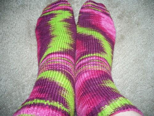 Alice's Garden socks