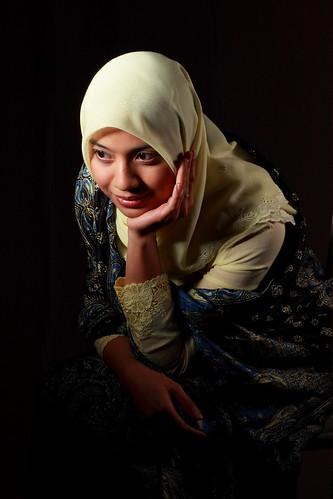 Girl In Kebaya