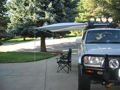 ShadyBoy awning installed on a 98 Toyota 4Runner.