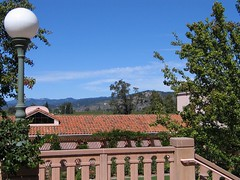Groth winery - view from terrace