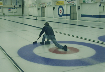 Curling in Victoria, BC
