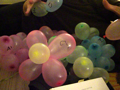(mmmmmbreed) Tags: birthday aluminum balloon salt science chemistry elements carbon argon tomfoolery