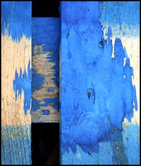 Blue pallet (tina negus) Tags: blue abstract minimal lincolnshire pallet grantham bluestblue abigfave colorphotoaward circleofarts hourofthediamondlight defendersmacro exploreunexplored coolestphotographers abstractartaward thatsbostin goldstaraward