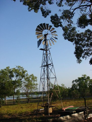 The wind mill at Fiona's. Humpty Doo, NT.