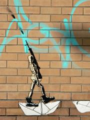 mannequin soldier