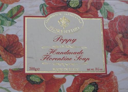 Poppy soap