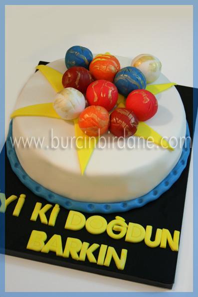 Bakugan Cake