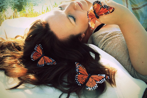 Holly:  Butterfly whisperer... von sprstef.