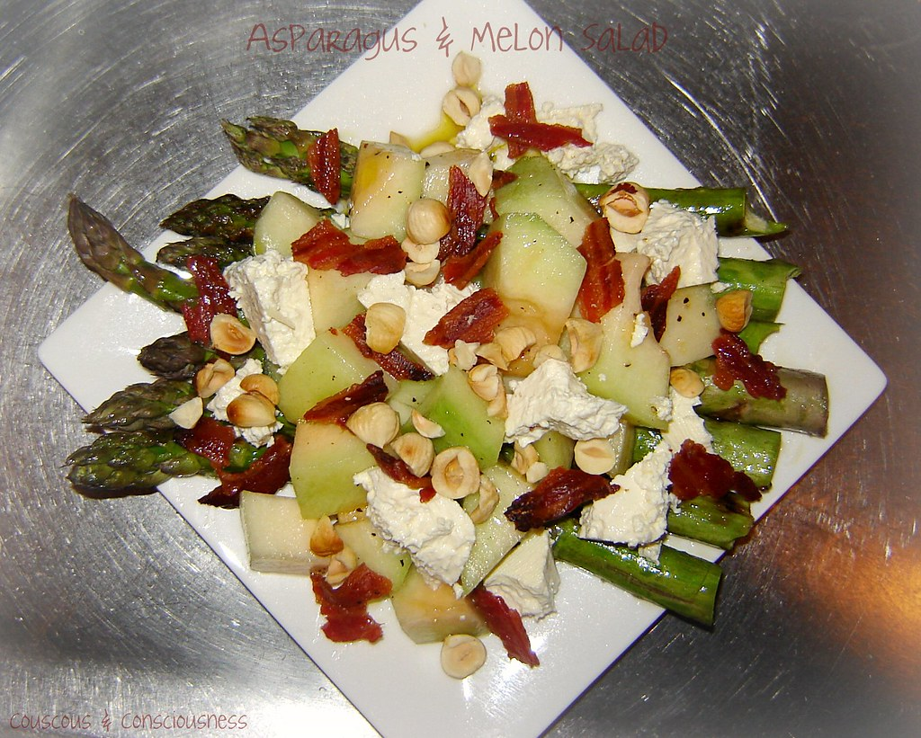 Asparagus & Rock Melon Salad1, cropped