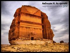 مدائن صالح [HDR] (Aв∂υιιɑн H. Aι-qнтɑNi) Tags: nikon hdr ksa تاريخ مناظر منظر السعودية صالح اثار معلم العلا اثري معالم السالم منضر تاريخي alsalm مدائن هدر عبوش alsalm121