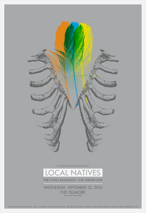 LOCAL NATIVES - FILLMORE