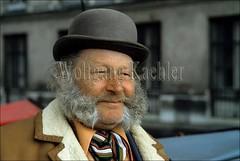 40001296 (wolfgangkaehler) Tags: vienna portrait man hat austria europe european bowlerhat sideburns mustache bowler austrian muttonchops coachman coachdriver