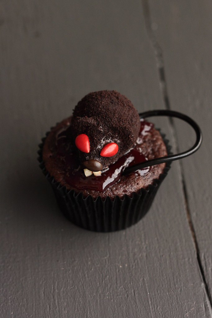 That Bloody Rat Got My Cupcake!