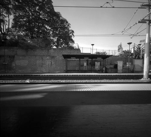 Jubilee Park light rail stop.