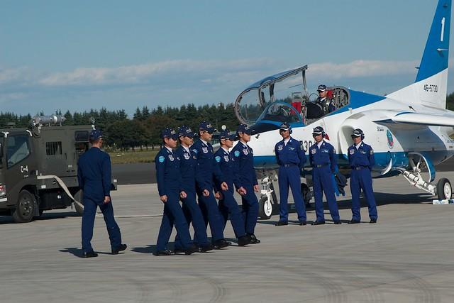 JASDF Blue Impulse T-4
