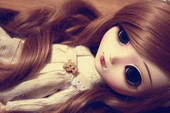 Pppchen  ( J a c k y) Tags: cute girl beauty canon eos cozy doll dress teddy mai planning wig groove pullip lin blanche jun