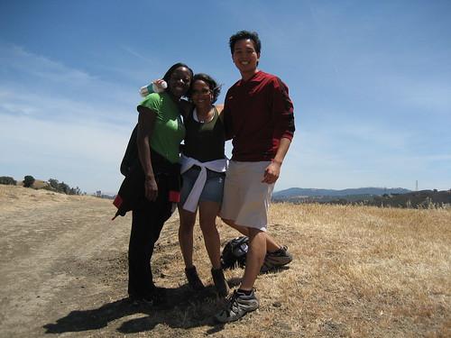 Bola, Bern and Rey hiking at lack Diamond Mines Part 1