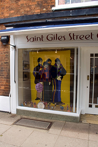 Beatles Play St Giles