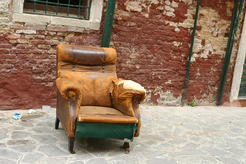 Old Chair in Venice