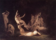 The Nymphaeum (troednoeth) Tags: woodland naked nude barefoot nudity bouguereau nymphs