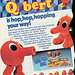 """Kenner's Q*bert is hopping..  "" (( 1983 ))"