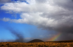 No Snow (Bill Adams) Tags: rain clouds hawaii rainbow explore bigisland puu soe dustdevil waikoloa takeabow canonef70200mmf28lisusm abigfave naturewatcher